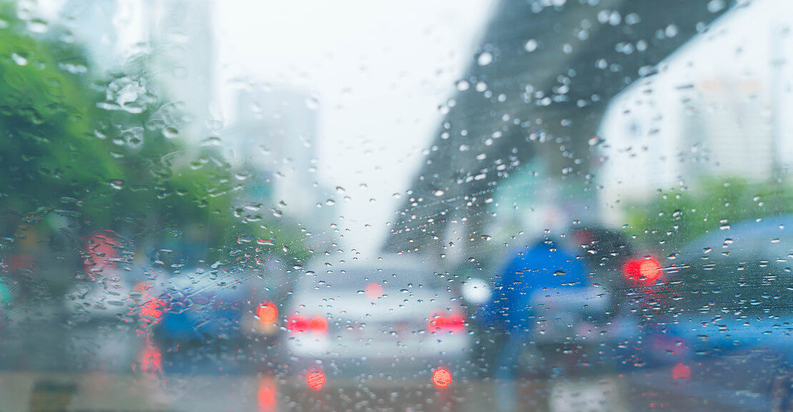 La conducción en días de lluvia